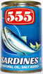 Picture of 555 Sardines in Natural Oil 155G