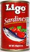 Picture of Ligo Sardines Chilli Red EOC 155g