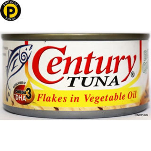 Picture of Century Tuna Flakes in Oil 180g