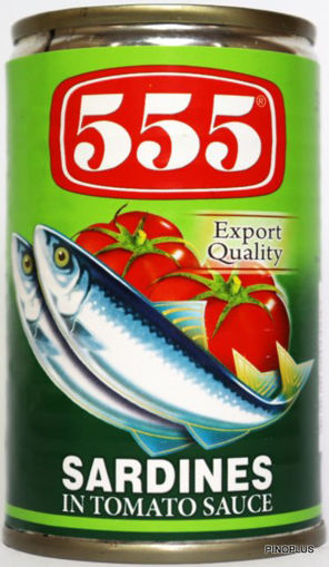Picture of 555 Sardines Green 155g
