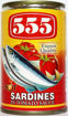 Picture of 555 Sardines Hot 155g