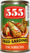 Picture of 555 Fried Sardines Escabeche 155g