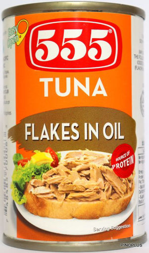 Picture of 555 Tuna Flakes in Oil 155g