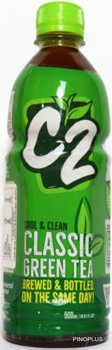 Picture of C2 Green Tea Plain 500ml