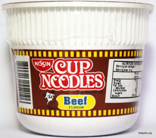 Picture of Nissin Mini Beef 40g