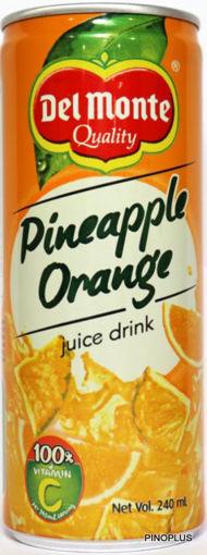Picture of Del Monte Pineapple Orange Juice 240ml