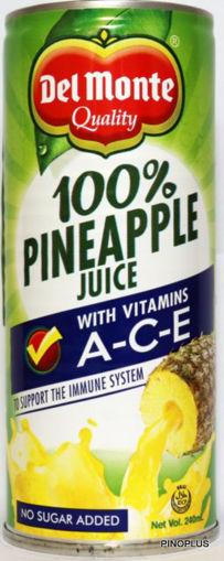 Picture of Del Monte Pineapple Juice 240ml