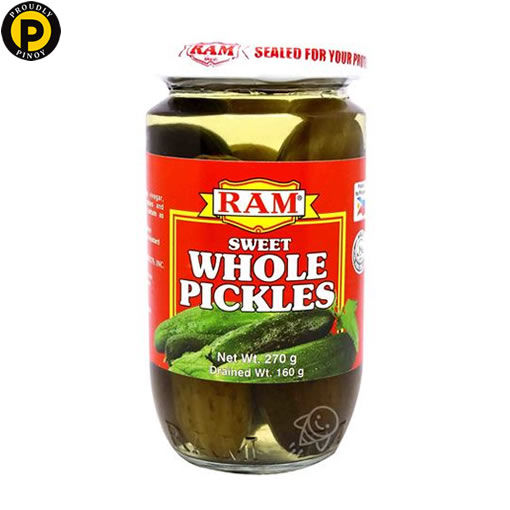 Picture of Ram Sweet Whole Pickles 270g