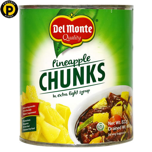 Picture of Del Monte Pineapple Chunks 822g