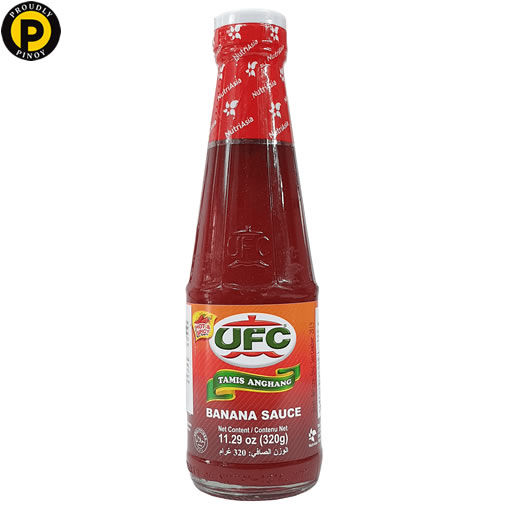 Picture of UFC Banana Sauce Hot & Spicy 320g