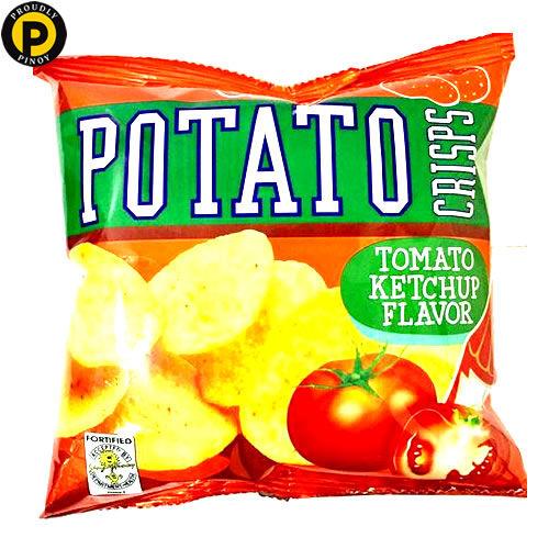 Picture of Oishi Potato Crisps Tomato Ketchup 50g