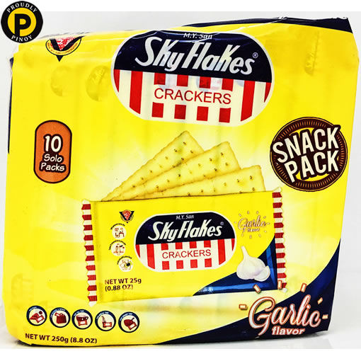 Picture of Sky Flakes Crackers Garlic 250g
