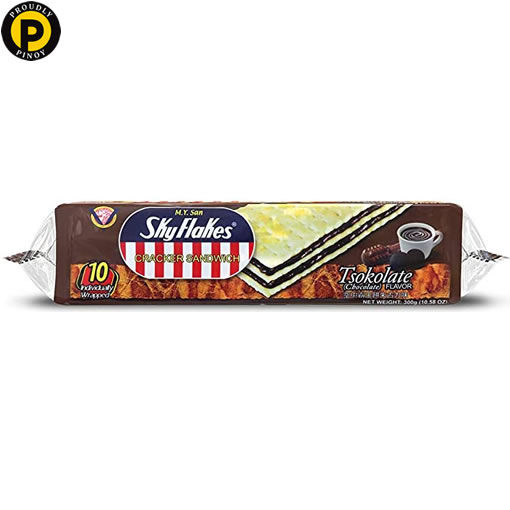 Picture of Sky Flakes Crackers Chocolate 10x30g