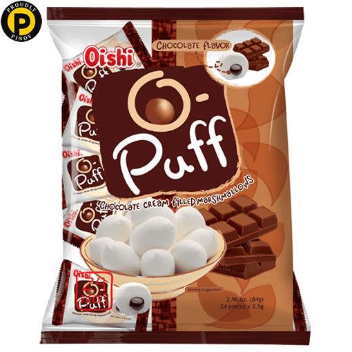 Picture of Oishi O-Puff Marsmallow Choco 24x3.5g