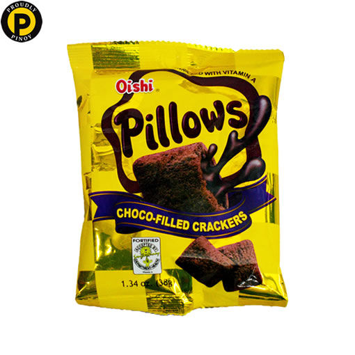 Picture of Oishi Pillows Chocolate 45g