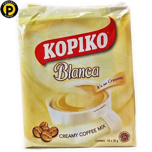 Picture of Kopiko Cafe Blanca Smooth Creamy Coffee 10x30g