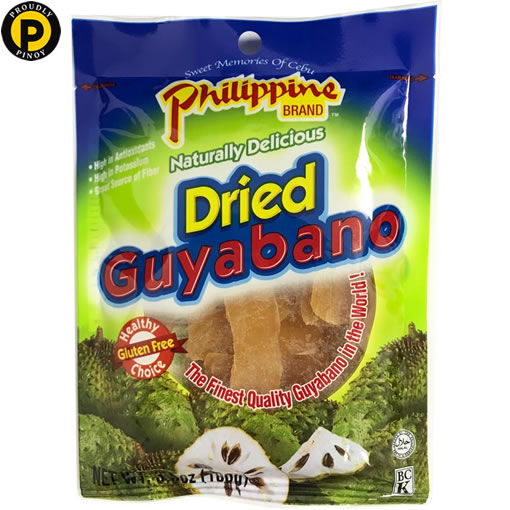 Picture of Philippine Dried Guyabano 100g