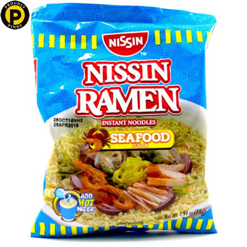 Picture of Nissin Ramen Instant Noodles Seafood 55g