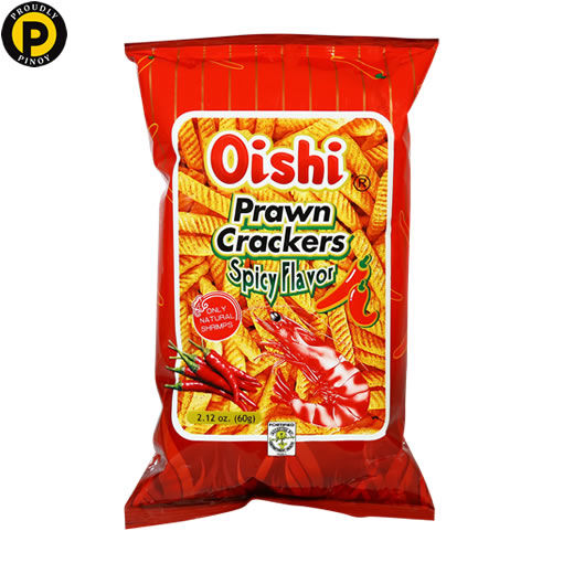 Picture of Oishi Prawn Crackers Spicy 60g