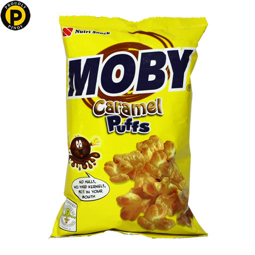 Picture of Moby Caramel Puff Corn 60g