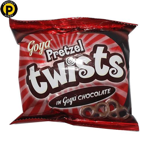Picture of Goya Pretzel Twists Chocolate 28g