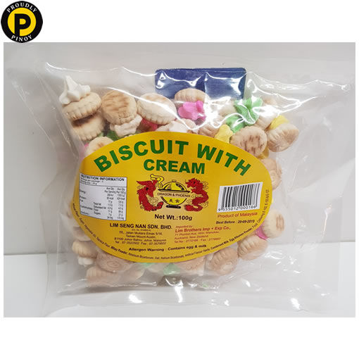 Picture of DP Biscuit w/ Cream 100g