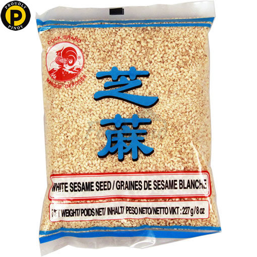 Picture of Cock Brand White Sesame Seeds 227g