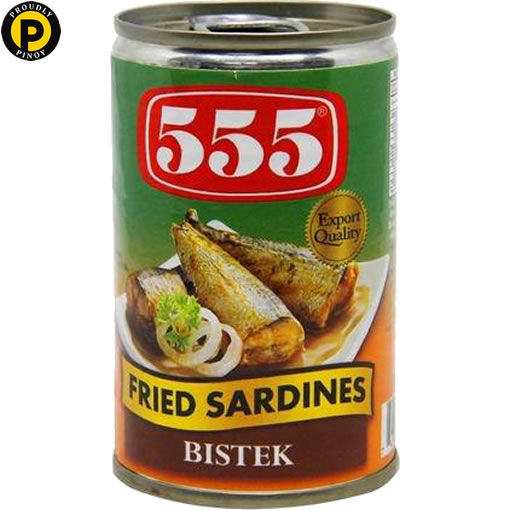 Picture of 555 Fried Sardines Bistek 155g