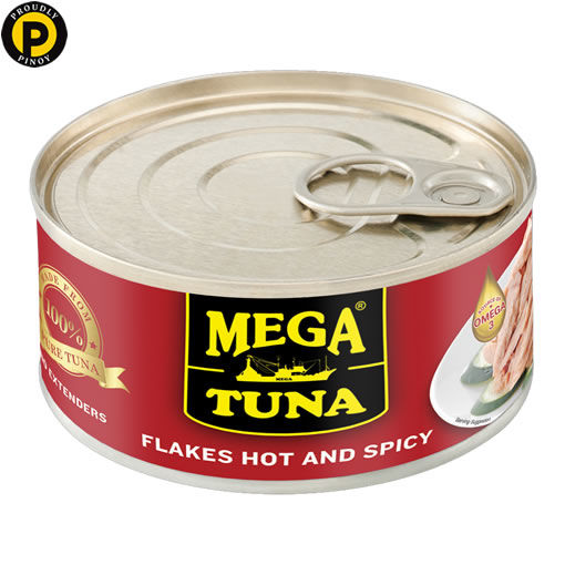 Picture of Mega Tuna Flakes Hot & Spicy 180g