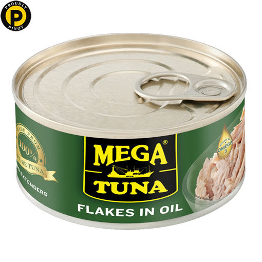 Picture of Mega Tuna Flakes in Oil 180g