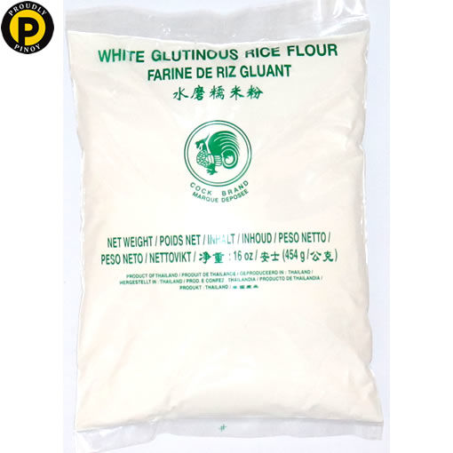 Picture of Cock Brand Glutinous Rice Flour 454g