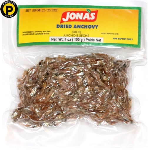 Picture of Jonas Dried Dilis Anchovy 100g