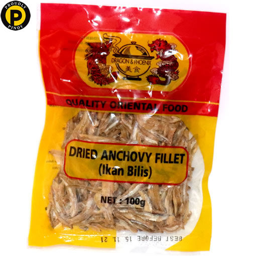 Picture of Dragon & Phoenix Dried Anchovy Fillet 100g