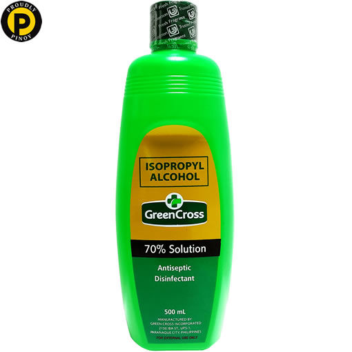 Picture of Green Cross Alcohol 70% Solution 500ml