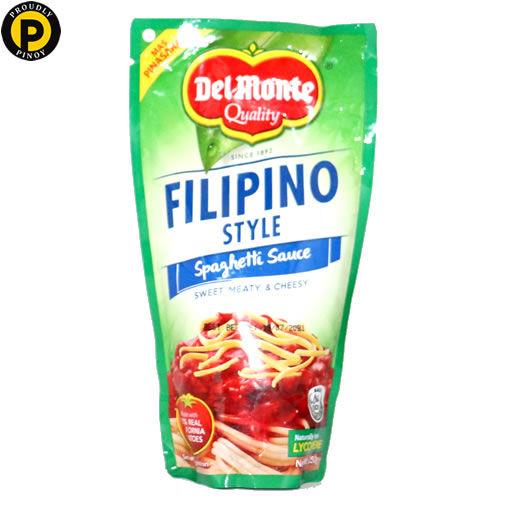 Picture of Del Monte Spaghetti Sauce Filipino 250g