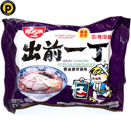 Picture of Nissin Shoyu Tonkotsu Noodle 100g