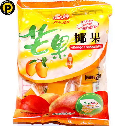 Picture of Jin Jin Mango Coconut Jelly 400g