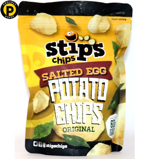 Picture of Stips Chips Salted Egg Potato Chips 60g