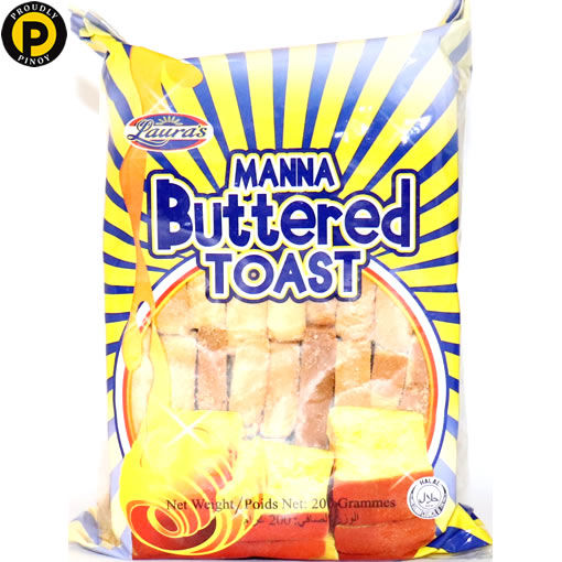 Picture of Lauras Manna Buttered Toast 200g