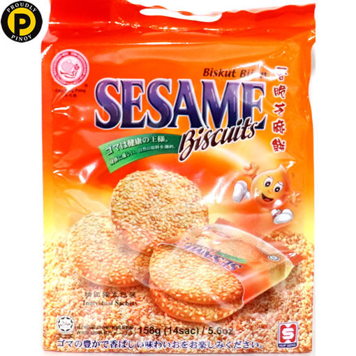 Picture of Cap Ping Pong Seng Sesame Biscuits 158g