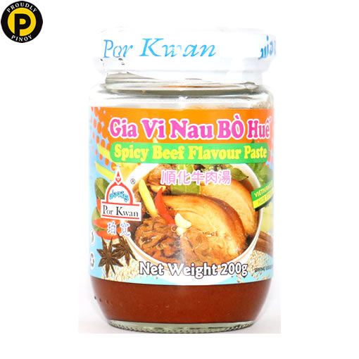 Picture of Por Kwan Spicy Beef Paste 200g