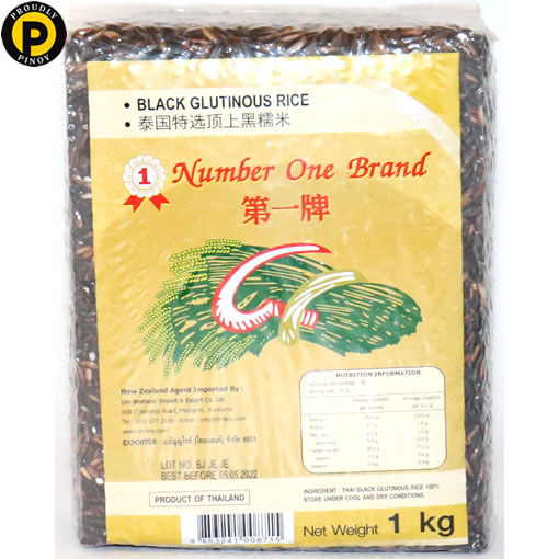 Picture of No.1 Black Glutinous Rice 1kg