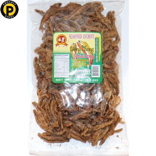 Picture of No.1 Seasoned Anchovy Natural Crispy 180g