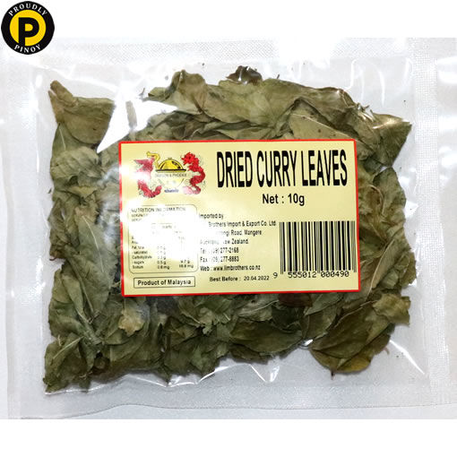 Picture of Dragon & Phoenix Dried Curry Leaves 10g