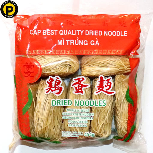 Picture of Wing Man Dried Wheat Noodles (Thin) 454g