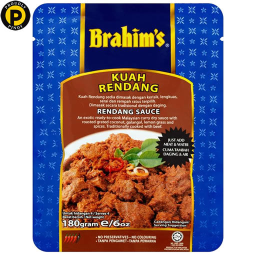 Picture of Brahim's Rendang Sauce 180g