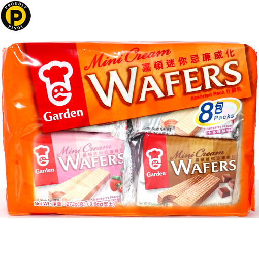 Picture of Garden Assorted Mini Wafers 272g