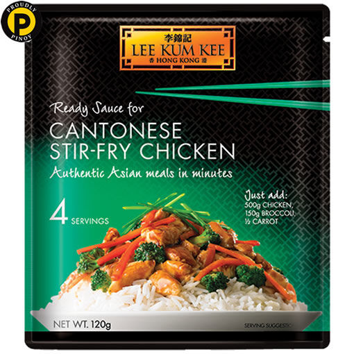 Picture of Lee Kum Kee Cantonese Stir Fry Chicken 120g