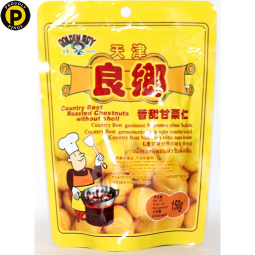 Picture of Golden Boy Roasted Chestnuts 150g