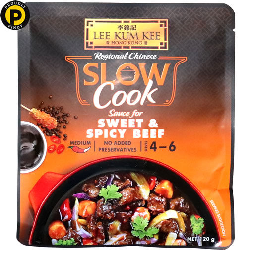 Picture of Lee Kum Kee Slow Cook Sweet & Spicy Beef 120g